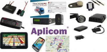 APLICOM A9 NEX - compact GPS unit of the telematics