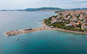 Croatia. Sun, sea and beautiful beaches. Vodice