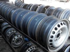 Диски колесные R16 volkswagen transporter 5