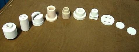 Electrical insulators of ceramics - manufacture