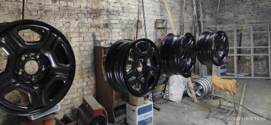 порошкове фарбування дисків Суми